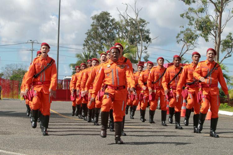 O Corpo de Bombeiros Militar oferece 750 vagas - Foto: Mateus Pereira l Gov-BA