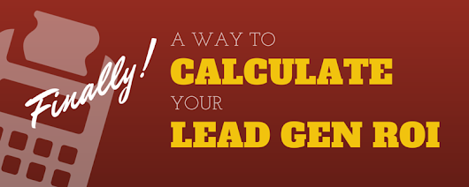 How to Determine Lead Generation ROI - Social Garden