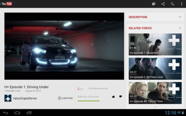 youtube android 630x394 YouTube mejora su interfaz en tablets Android y en su web para móviles