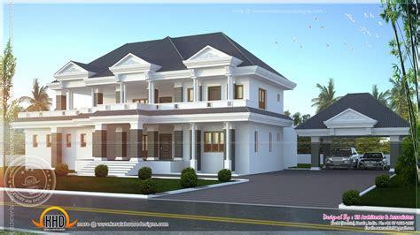 modern super luxury home design kerala floor plans house