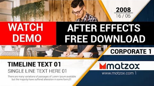 After Effects Templates Free Download Google - After effects timeline template