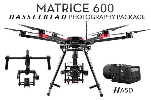 DJI Matrice 600 + Ronin MX + Hasselblad A5D + Ground Station