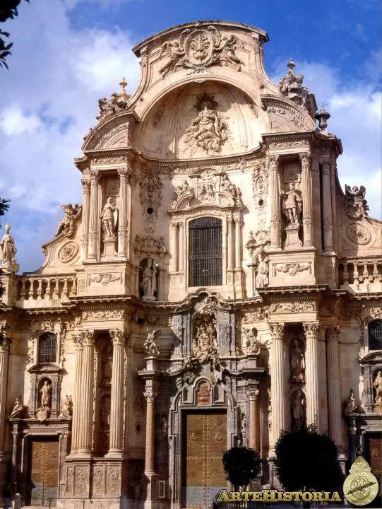 Catedral de Murcia. Fachada