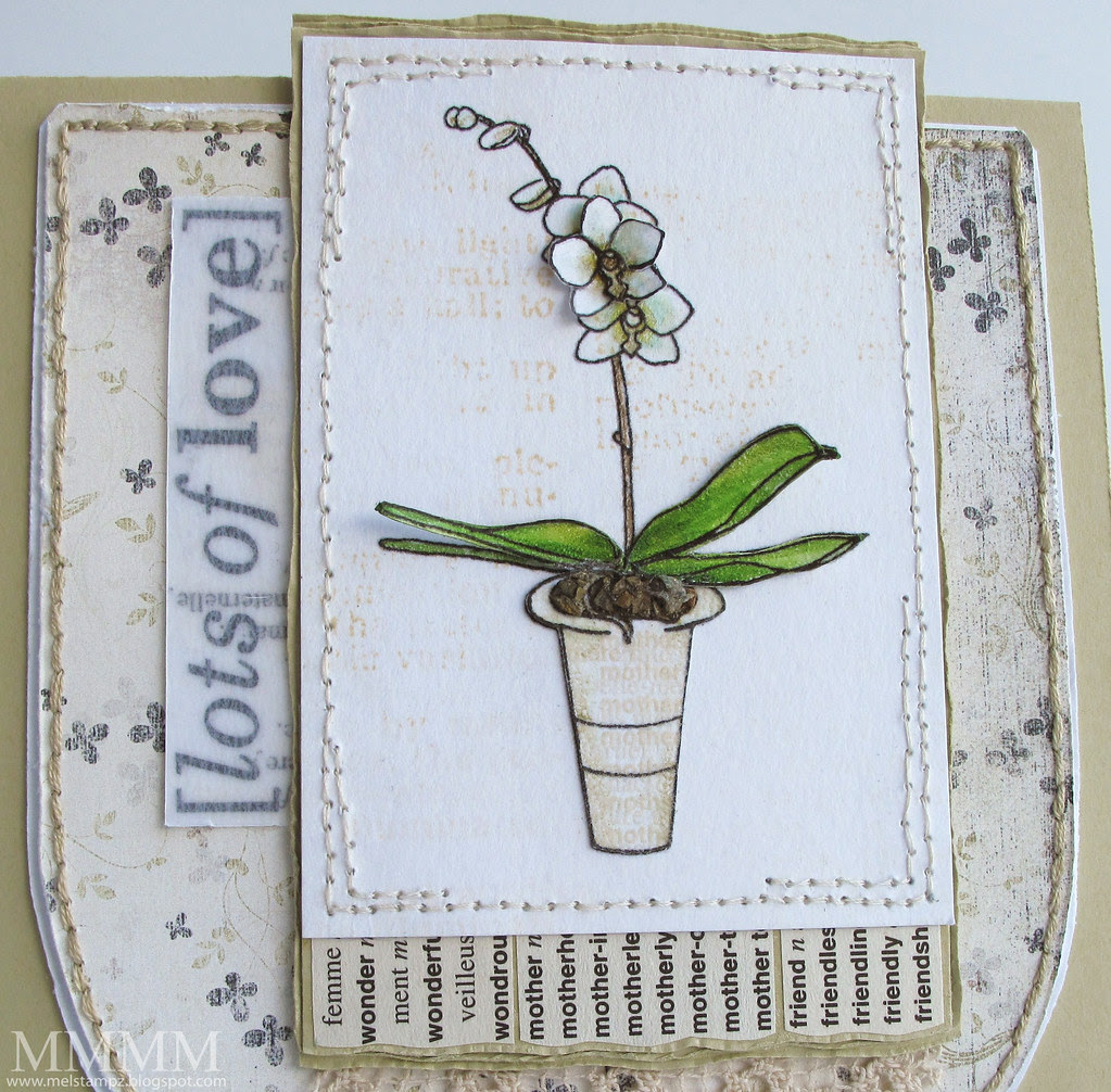 CROP Mother's Day Orchid Digi from A Passion for Stamps &  Vinnie Pearce Paper
