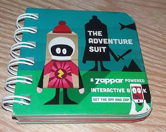 Giveaway: Zappar, The Adventure Suit Book - Family Clan Blog