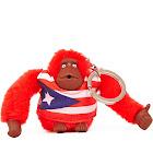 Kipling Puerto Rico Monkey Keychain, Size: One size, Multi-colored