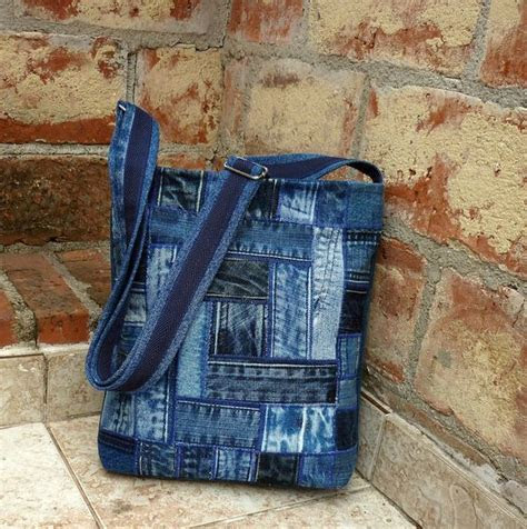 30 variants of bags made from old jeans   PicturesCrafts.com