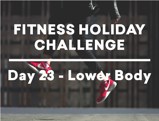 EBOOST Fitness Holiday Challenge Week 4 Day 3 | EBOOST Blog
