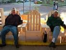 Mayor floats idea of bronze Adirondack chair at Farmers Market in ...