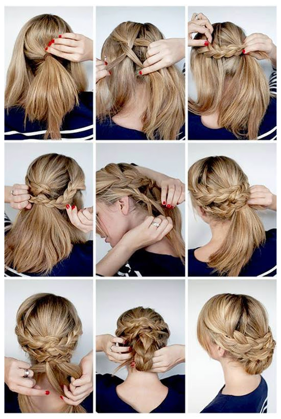 Gallery Updos  For Long  Hair  Tutorials