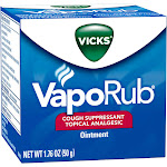 Vicks VapoRub Cough Suppressant Topical Analgesic Ointment - 1.76 oz box