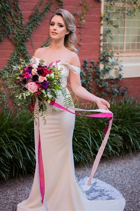 Jewel Toned Secret Garden Wedding Inspiration