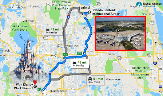 Florida Trip | How to get from Sanford Airport to Disney World? - Disney Orlando And Beyond