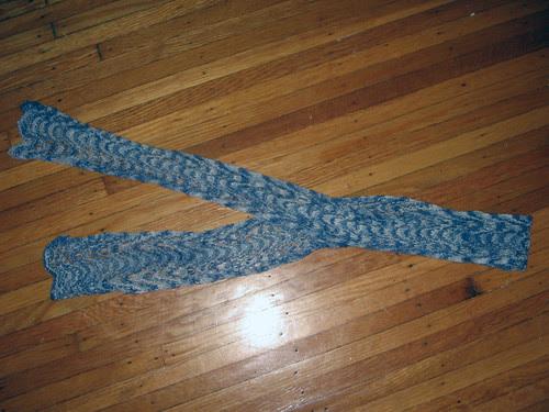 Misty Garden scarf