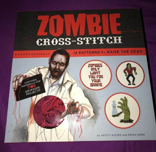 Zombie Cross-stitch Review #Partner #Halloween #Crafting