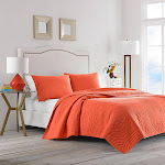 Trina Turk 3-piece Quilt Set, Palm Desert Orange Queen