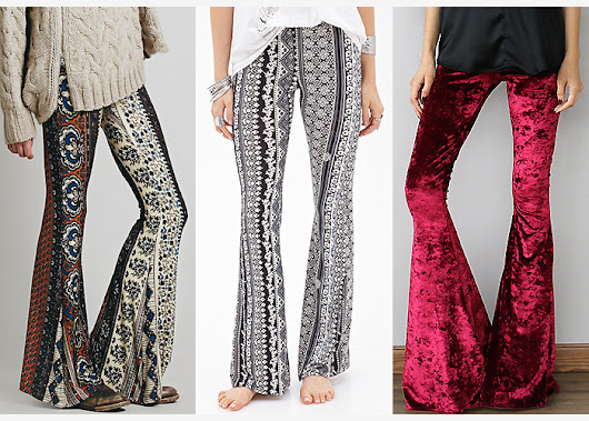 Trend: Bohemian Bell Bottoms