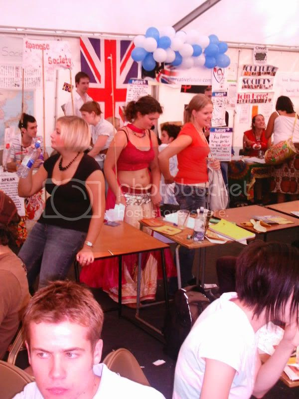 another view of the tory stall and a very nice midriff