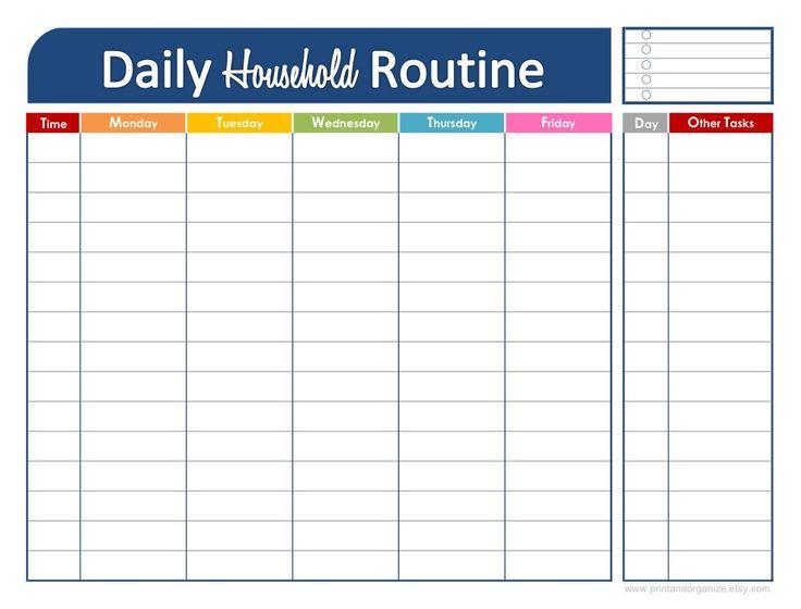 Daily Schedule Kids Calendar June