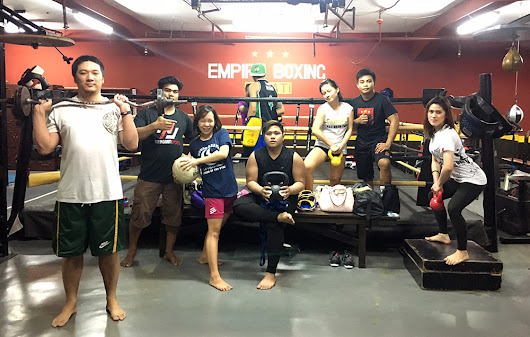 Empire Boxing – Philippines's Most Dedicated Training Gym | V.M. Simandan