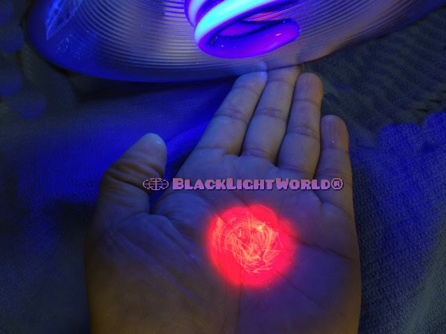 Invisible Black Light Paint