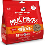 Stella & Chewy's FreezeDried Dog Food Stella's Meal Mixers Stella's Super Beef 18 oz.