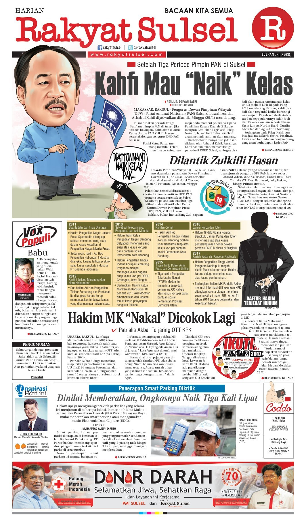 Rakyat Sulsel Jumat 27 Januari 2017 Pages 1 16 Text Version