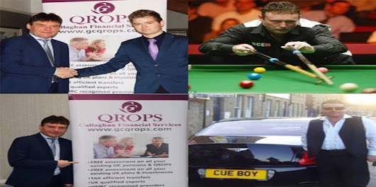 The Day I Met With Jimmy White MBE - QROPS Callaghan Financial Services
