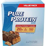 Pure Protein Bar - Chocolate Peanut Caramel - 12ct