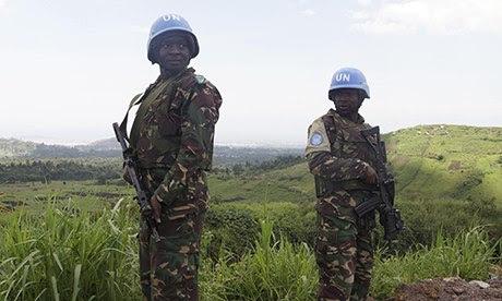 U.N. peacekeepers in Congo