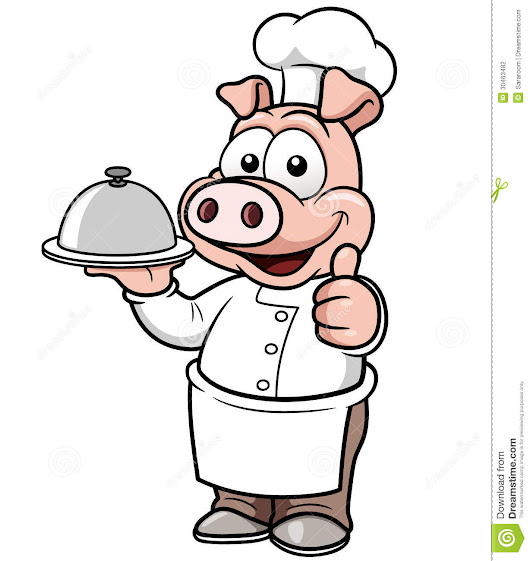 Cartoon Chef Pig Stock Photography - Image: 30463482