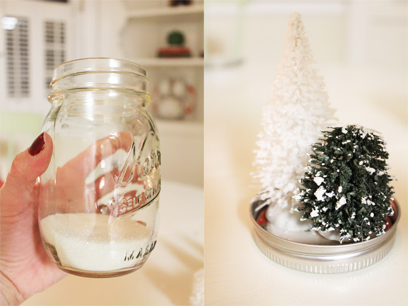 Diy Mason Jar Snow Globes Mommingcom