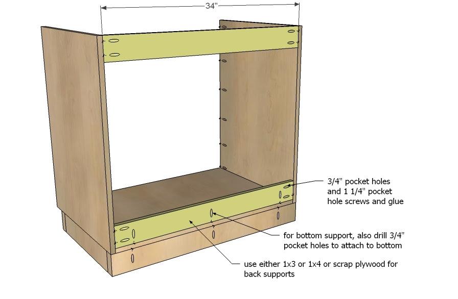 Kitchen Base Cabinet Plans Plans DIY Free Download plans a ...