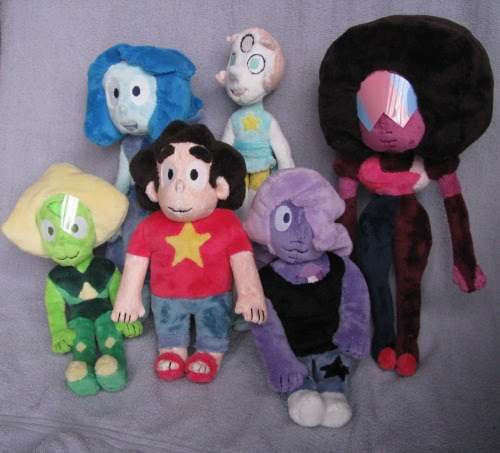 I made the crystal gems, I also included Lapis because why not?