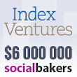 Socialbakers Raises $6 Million from Index Ventures