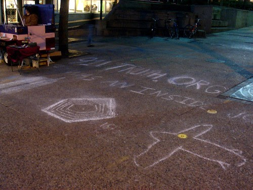 Despicable chalking