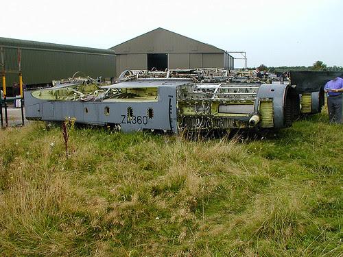 GR.1 fuselage ZA360 Picketston 160902
