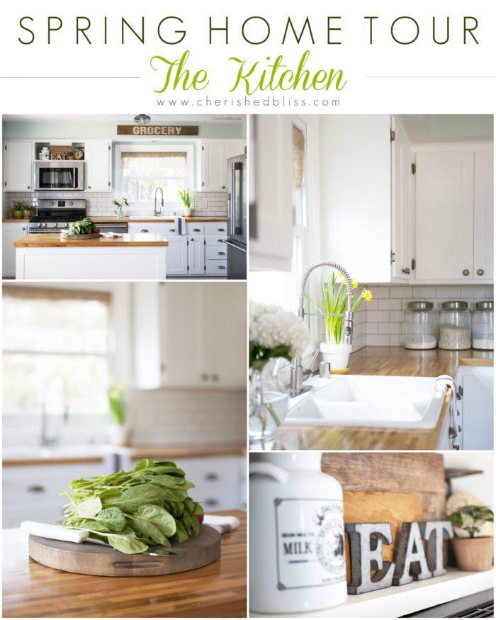 Spring Home Tour - The Kitchen