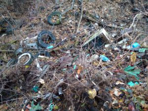 Commercial and Industrial Waste Dump Identified During Phase I Environmental