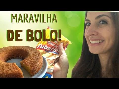 Receita de BOLO DE FUBARINA de liquidificador MARAVILHOSO!