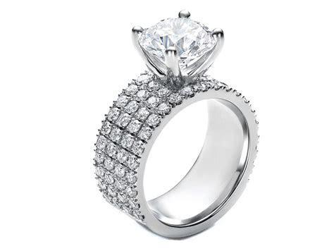 Mens Gold Wedding Rings: Radiant Diamond Halo Engagement