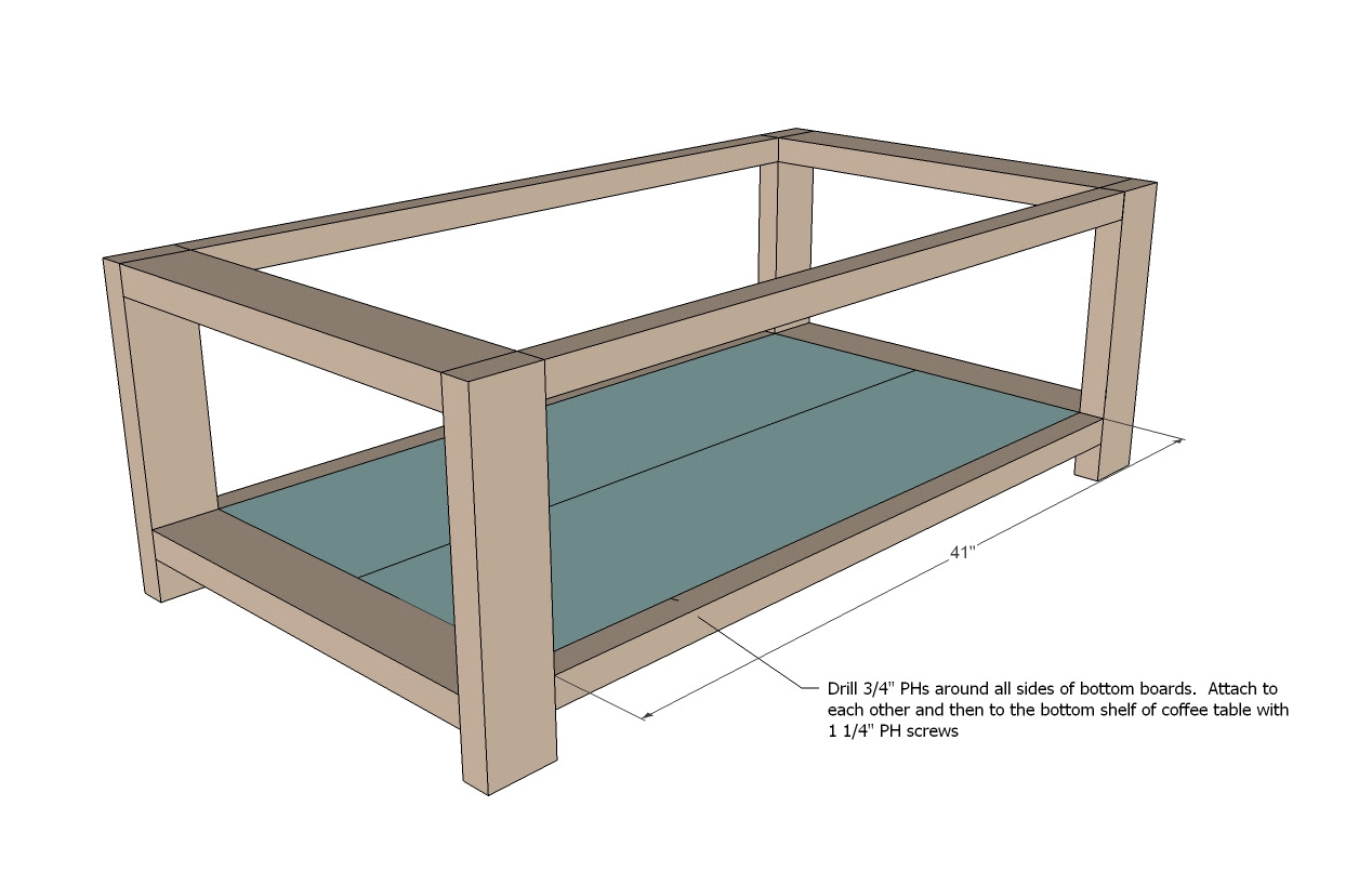 Woodwork Coffee Table Plans Dimensions PDF Plans