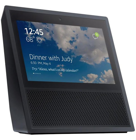 Amazon's 'Echo Show' Is A Tablet With A Stand You Do Not Need