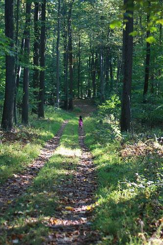Child on Path