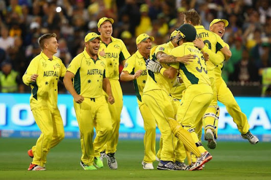 Dominant Australia lifts World Cup for fifth time