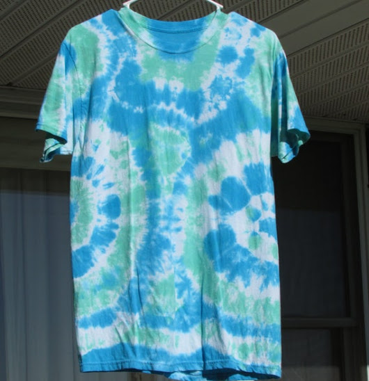 Custom Tie Dye T-shirt Adult Medium
