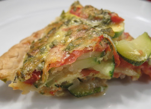 Italian Zucchini and Tomato Pie