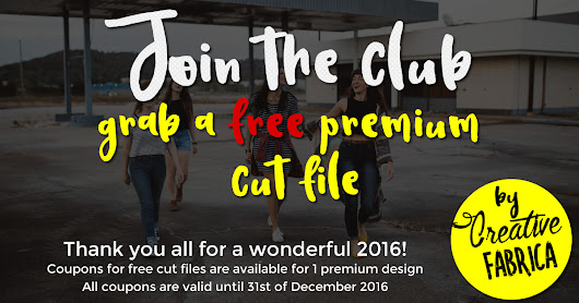 Get one (or two!) of our premium cut files for free!