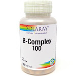 B-Complex 100 100 mg By Solaray - 100 Vegetable Caps