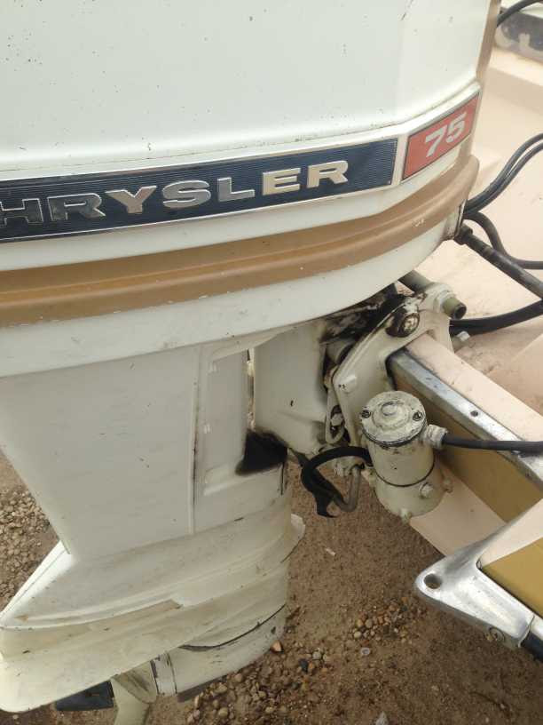 Old Marine Engine Chrysler Outboard Corp